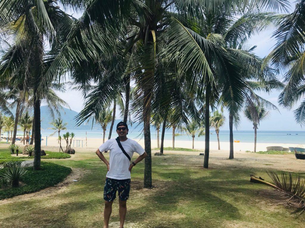 2019年6月ベトナムダナンにて